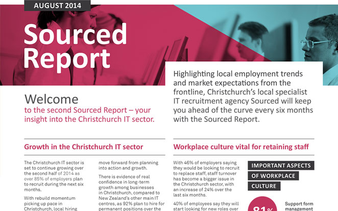 August 2014 Sourced Report