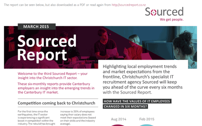 Sourced Report March 2015