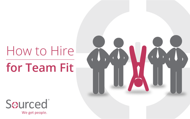 How to Hire for Team Fit |  Sourced Specialist IT Recruitment Agency