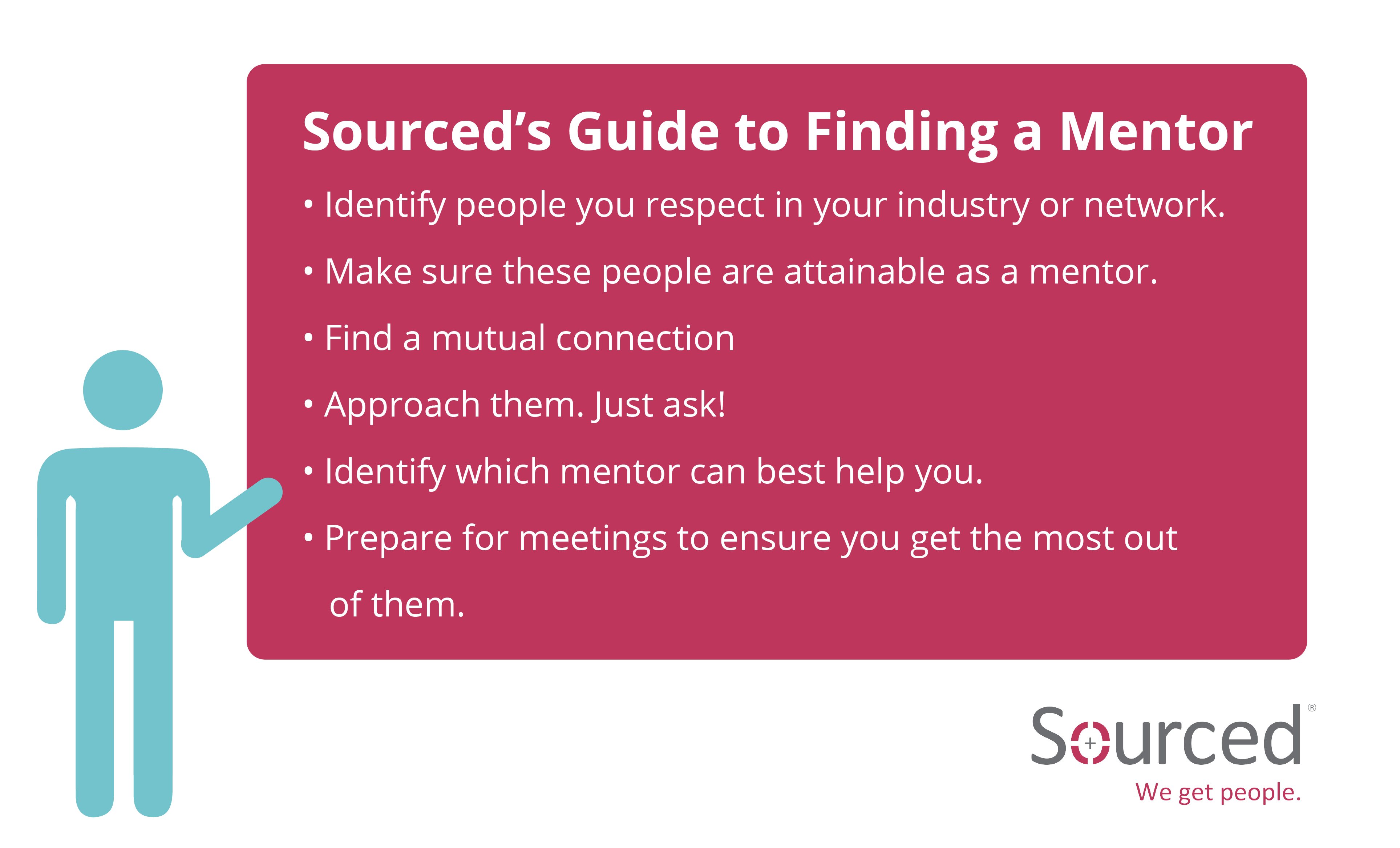 Sourced's Guide to Finding a Mentor