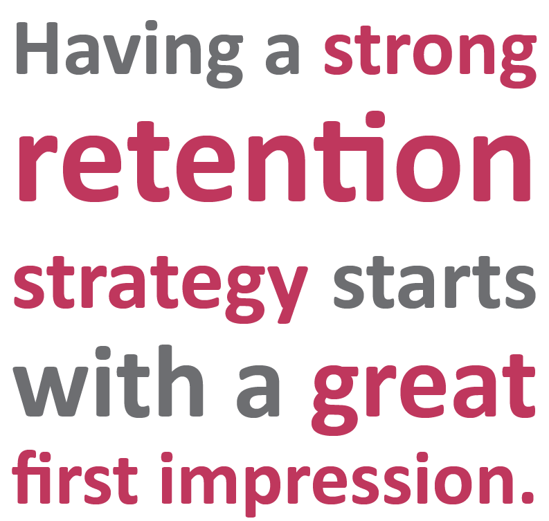 Having a strong retention strategy starts with a great first impression | Sourced - Christchurch IT Recruitment