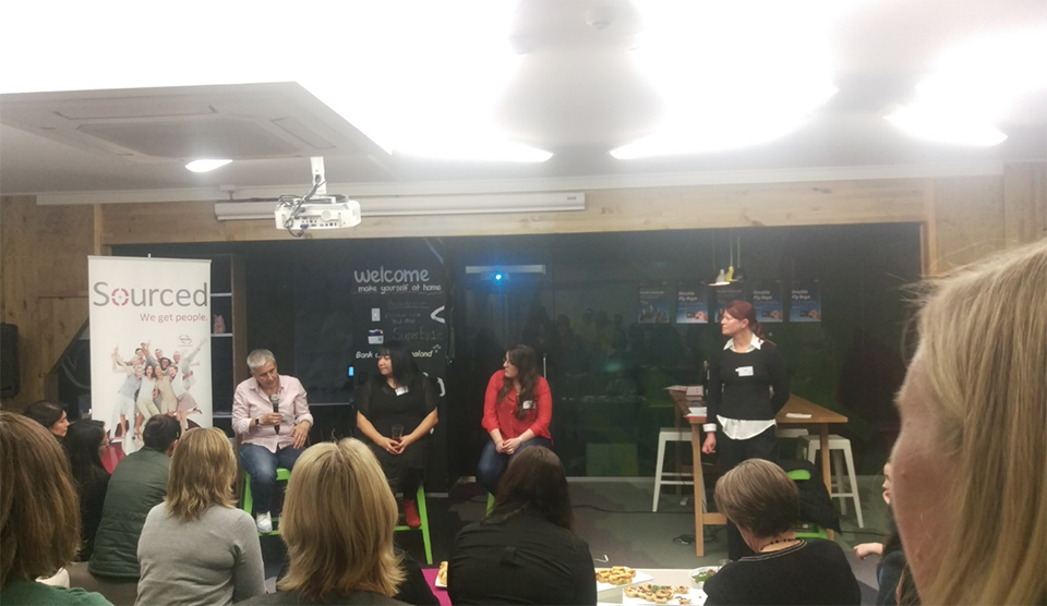 Women in Tech panel event